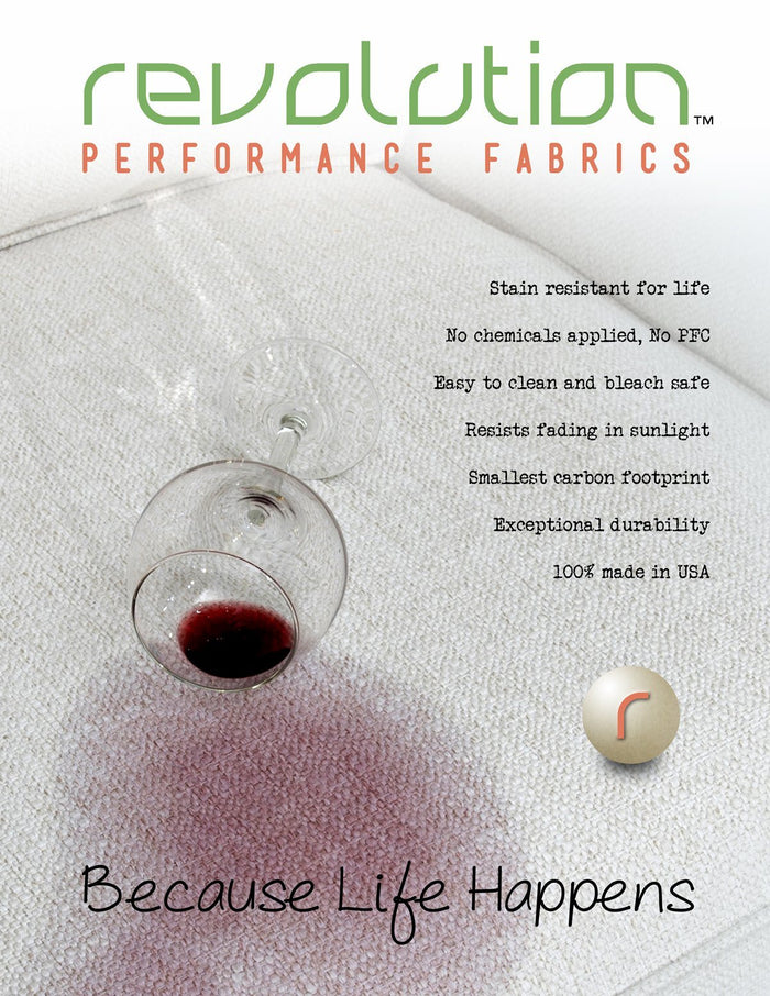 8.5 x 11 One-Sided Posters - Poster / Wine - Revolution Upholstery Fabric