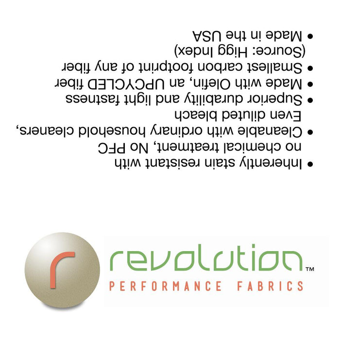 Revolution 3 x 3 inch Side Tag -  - Revolution Upholstery Fabric
