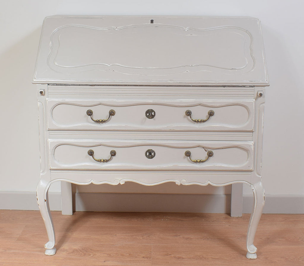 French Painted Louis XV Style Bureau