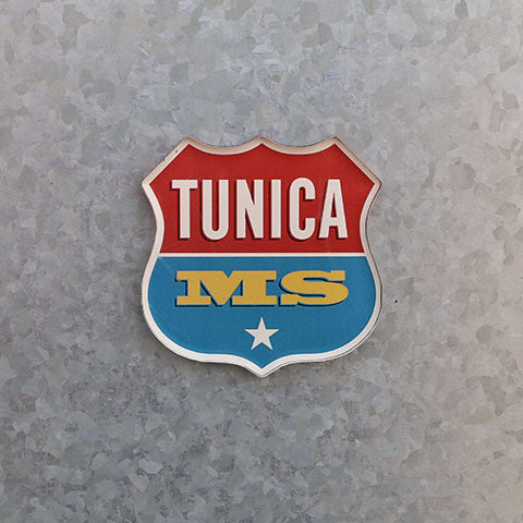Tunica MS Logo Magnet