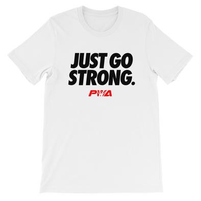 Just Go Strong Women's - Power Words Apparel