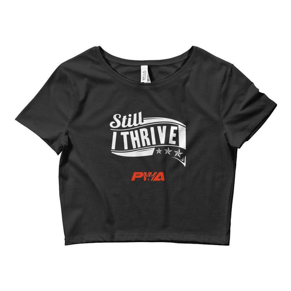 Still I Thrive Crop Tee