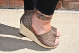 Warrior Wedge Sandal
