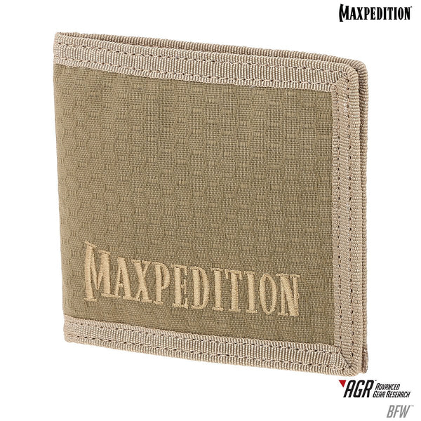 BFW BI-FOLD WALLET - MAXPEDITION Maxpedition-Military, CCW, EDC, Tactical, Everyday Carry, Outdoors, Nature, Hiking, Camping, Police Officer, EMT, Firefighter,Bushcraft, Gear