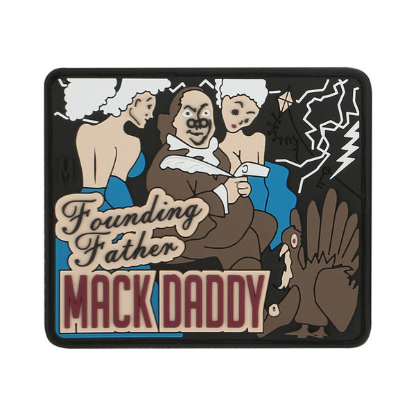 BEN FRANKLIN MACK PATCH - MAXPEDITION, Patches, Military, CCW, EDC, Tactical, Everyday Carry, Outdoors, Nature, Hiking, Camping, Bushcraft, Gear, Police Gear, Law Enforcement