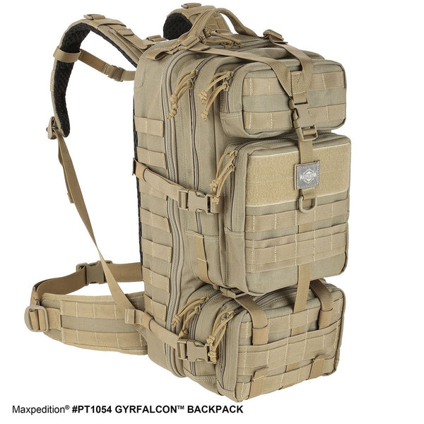GYRFALCON BACKPACK - Maxpedition, Military, CCW, EDC, Tactical, Everyday Carry, Outdoors, Nature, Hiking, Camping, Police Officer, EMT, Firefighter, Bushcraft, Gear.