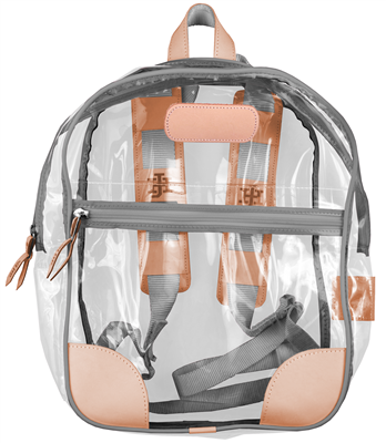 Jon Hart Clear Backpack