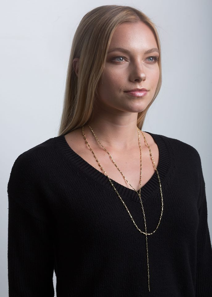 ANYA ARIANNA Y NECKLACE