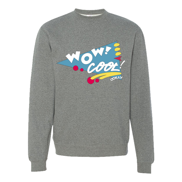 Wow! Cool Crewneck Sweatshirt