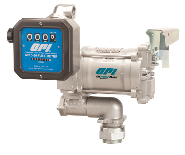 GPI M-3120 / MR 5, 115 Volt AC, 20 GPM, Nozzle and Hose excluded
