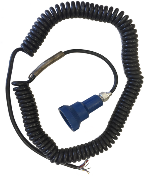 Civacon Optic Plug with 30'  10-Conductor Coiled Cord 7100-7100