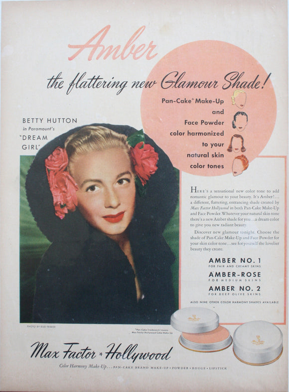02 26 1915 BD Betty Hutton Max Factor