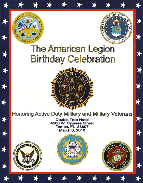 03 06 2010 American Legion Birthday Celebration