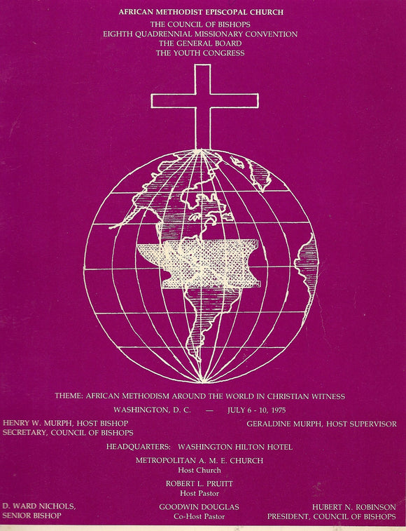 07 06 1975 AME Church Council of Bishops