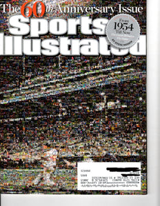08 11 2014 Sports Illustration 60th Anniversary Issue