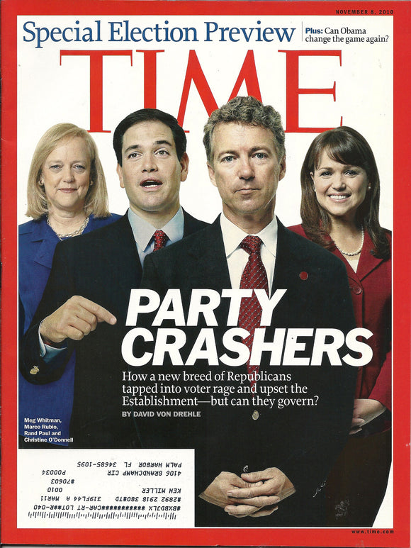 11 08 2010 Time Special Election Issue