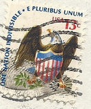 03 07 1978 GCI 3 Gift Card Insert - Post Marked Eagle - One Nation