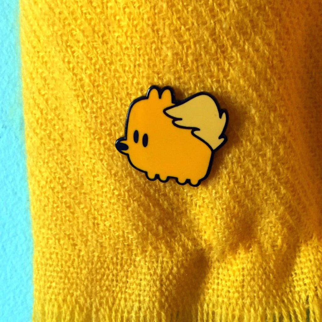 cute puppy pin