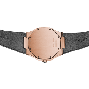 Ultra Thin Suede 38 mm - Italian Gold
