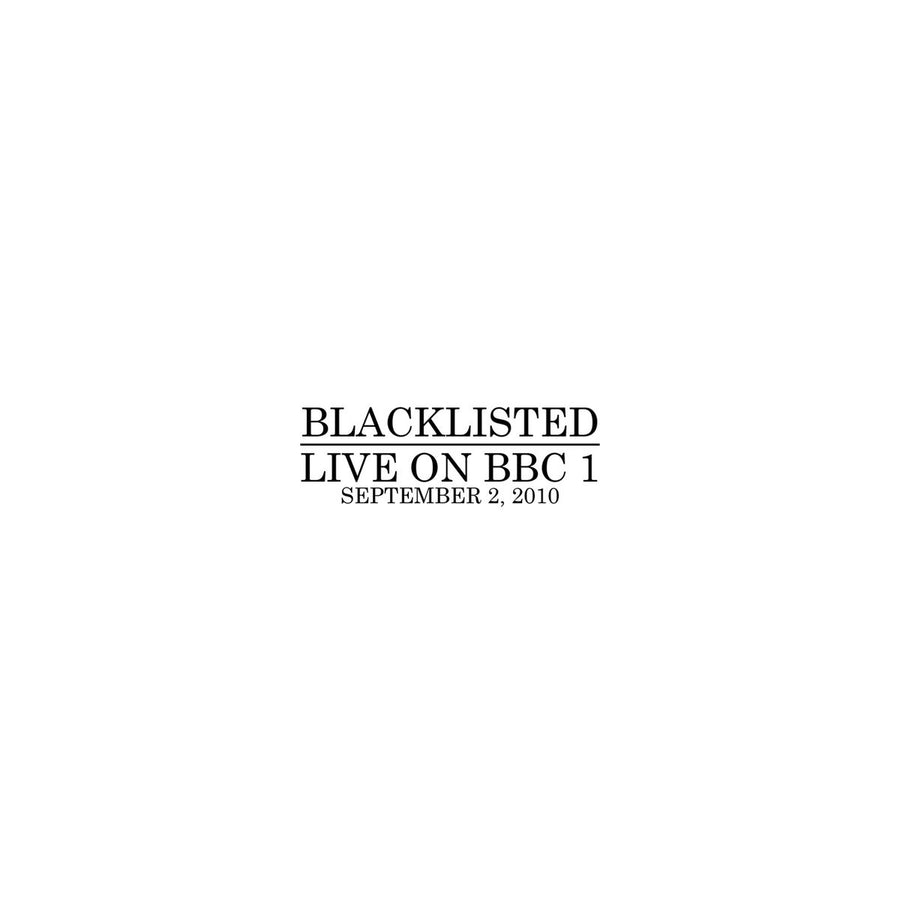 "Blacklisted ""Live On BBC 1"""