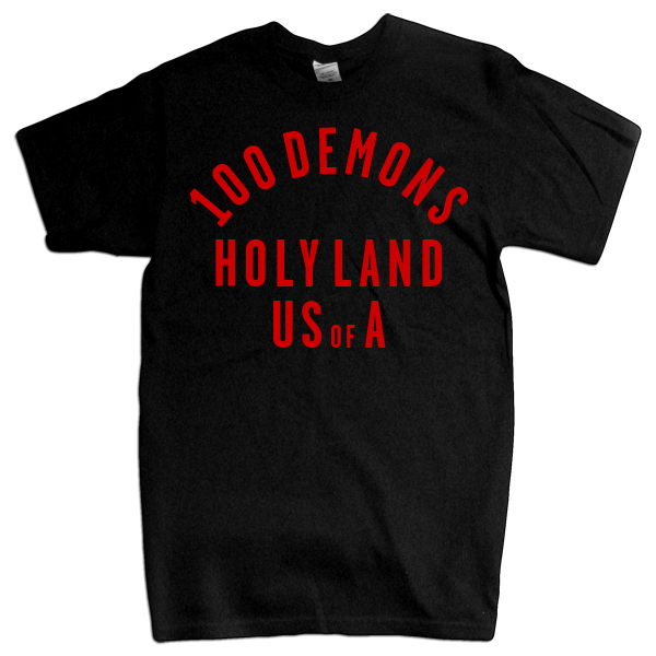 "100 Demons ""HolyLand"" Black T-Shirt"