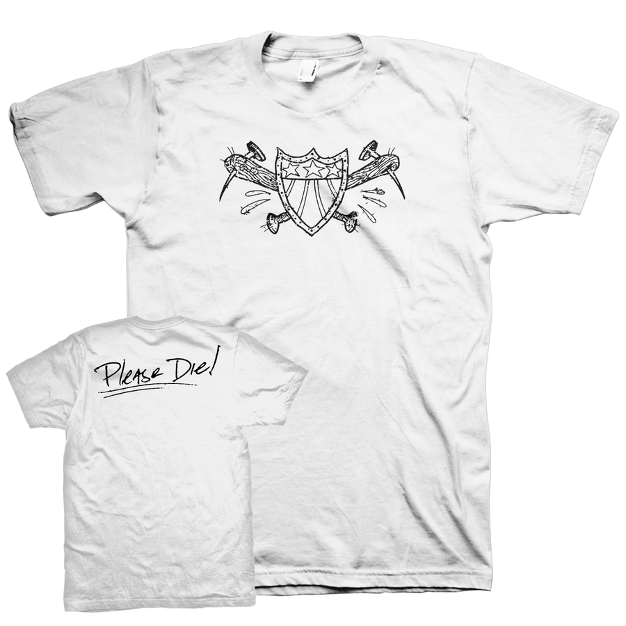 "American Nightmare ""Please Die"" White T-Shirt"