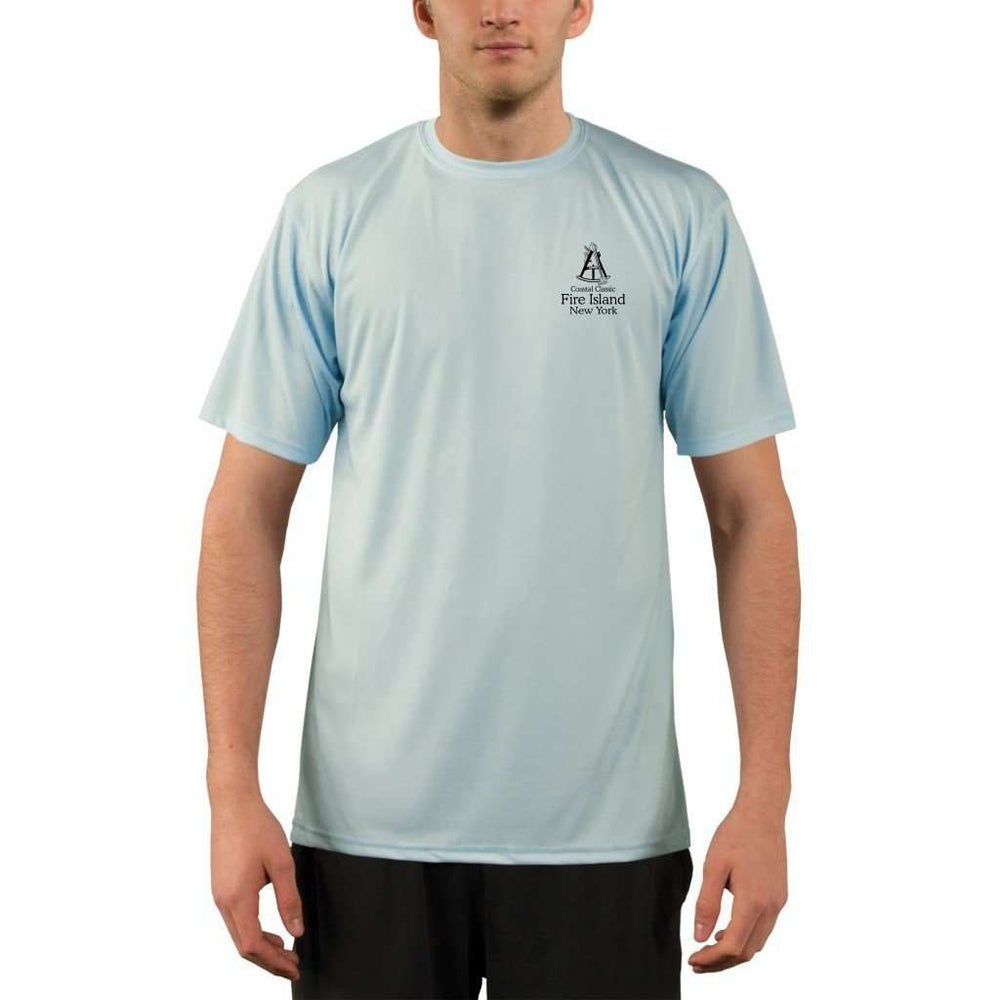 Coastal Classics Fire Island Mens Upf 5+ Uv/sun Protection Performance T-Shirt Shirt