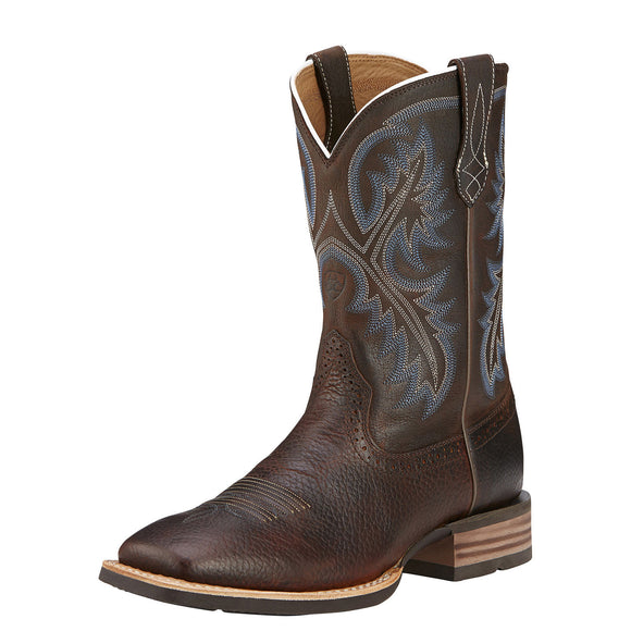 Ariat Men's Quickdraw - Brown Oiled Rowdy 10006714 - ShoeShackOnline