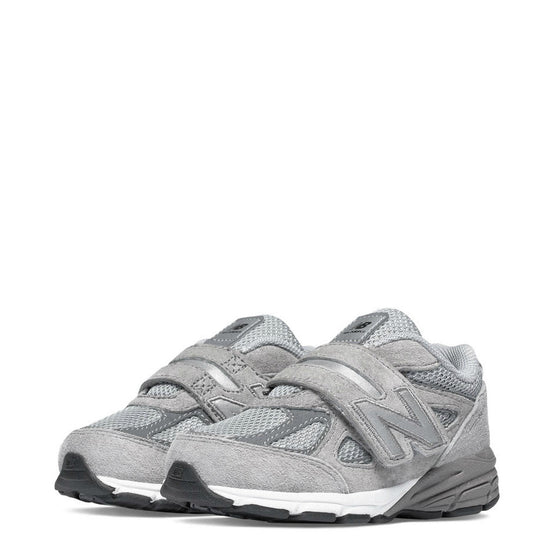 New Balance Kid's Hook & Loop 990v4 - Grey KV990GLI