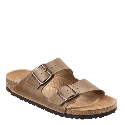 Birkenstock Arizona Soft Footbed - Tobacco Brown | Oiled Leather - 552811 - ShoeShackOnline
