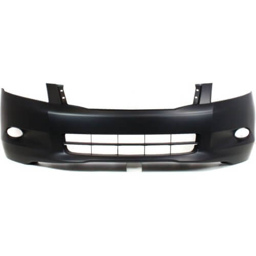 2008 Honda Accord Front Bumper Painted Alabaster Silver Metallic (Paint Code: NH700M); 04711TA0A90ZZ