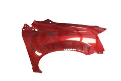 2008 Chrysler Town and Country Fender Painted Inferno Red Crystal Pearl (PRH)_top view