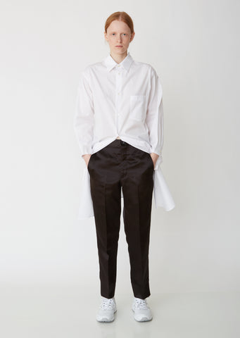 Acetate Satin Trousers