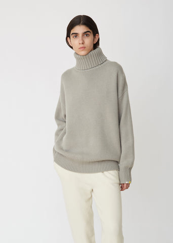 Oversize Xtra Oversized Unisex Roll Neck Sweater