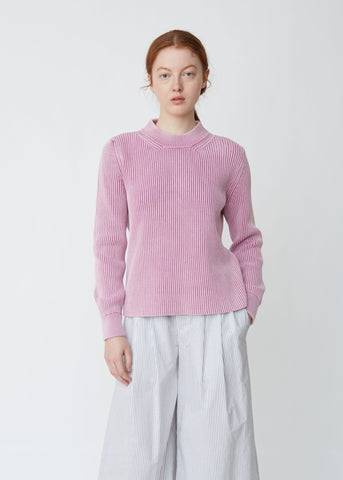Chunky Knit Cotton Sweater
