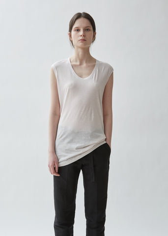 Iliad Cotton Silk Muscle Tee