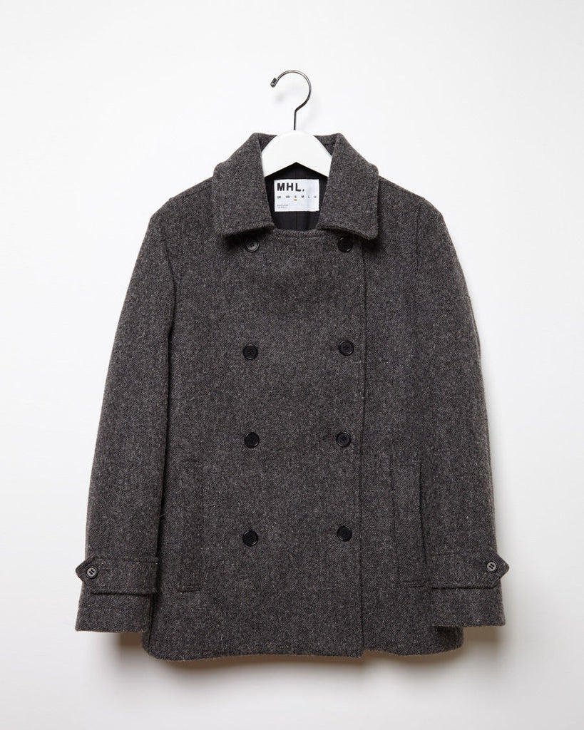 Short Double Breasted Coat
