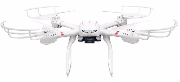 Super Large Quadcopter UAV W/ Gimbal + MJX C4010 1.0mp 720 HD FPV Real Time Camera & 6 Axis Gyro