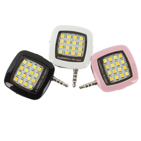 Portable Mini LED Flash Fill Light For IOS & Android Smartphone