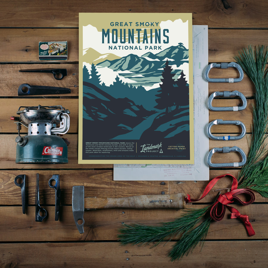 Smoky Mountain National Park Poster