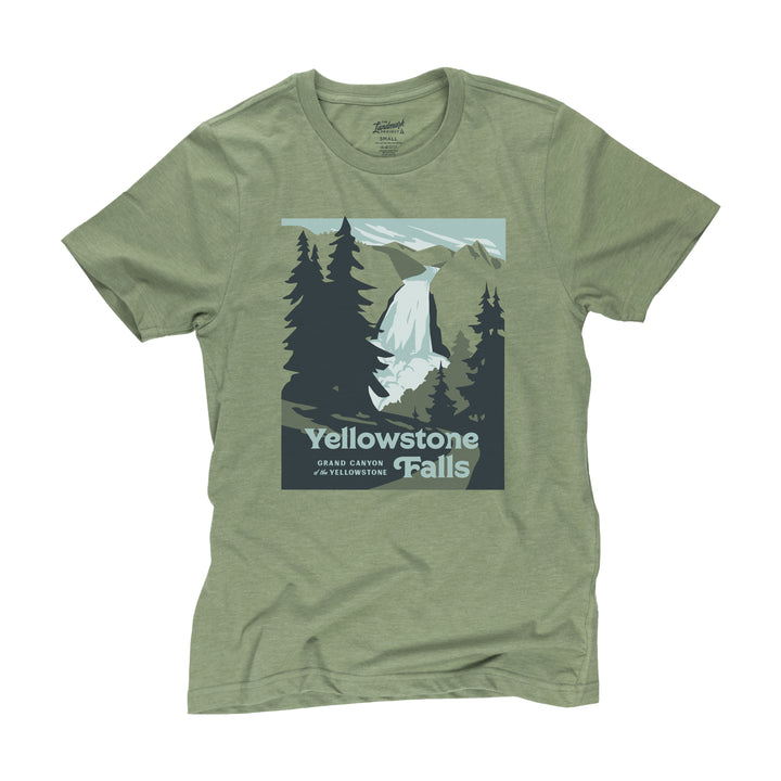 Yellowstone Falls t-shirt in cactus