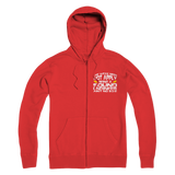 The Weak Need Not Apply Being a Sound Engineer Aint No 9 to 5 Premium Adult Zip Hoodie