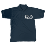 Book Nerd Classic Adult Polo Shirt