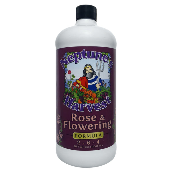 Neptune's Harvest Rose and Flowering Formula Fertilizer