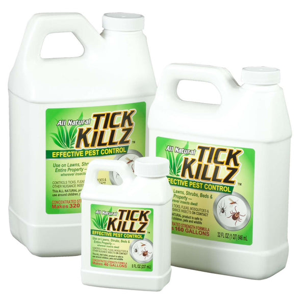 Tick Killz All Natural Effective Pest Control - Rocky Mountain Bio-Ag
