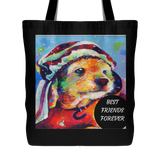 TOTE BAGS-DOG LOVERS-LOVABLE DOG TOTE BAGS -9 designs-9 sayings