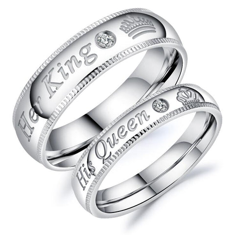 His Queen & Her King Rings - Last Chance Order