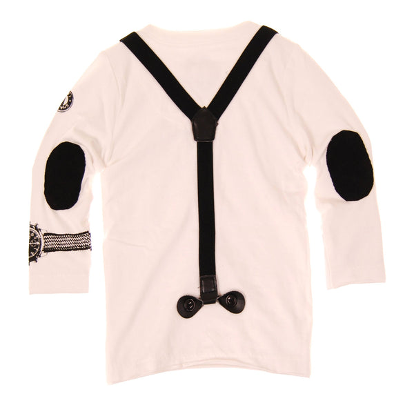 Real Suspenders Henley by: Mini Shatsu