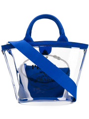 Prada PVC Clear Blue Tote Bag