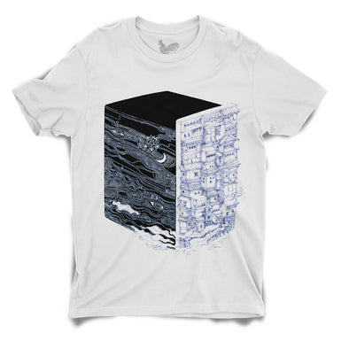 Black Block Unisex Tee by Sithzam